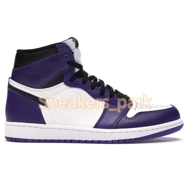 1s-High Court Púrpura Blanco