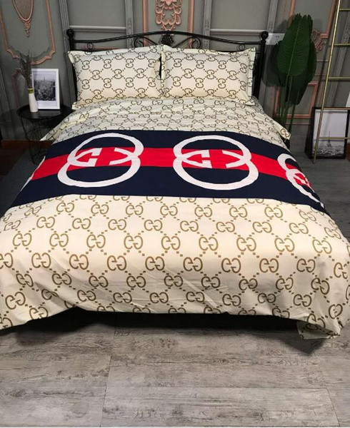 2019 Designer Luxury Bedding Sets King Or Queen Size Bedding Sets Bed  Sheets Comforter Luxury Bed Comforters Sets From Brand_logo_2012, $95.69 |  ...