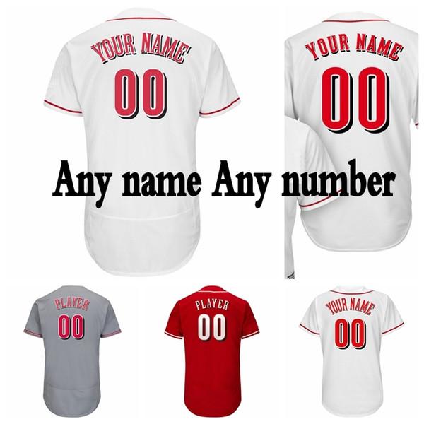 new arrival a3775 22d60 Custom Cincinnati Baseball Jersey 5 Johnny Bench Jersey 11 Barry Larkin  Jersey 19 Joey Votto 14 Pete Rose 17 Chris Sabo 3 Scooter Gennett UK 2019  From ...