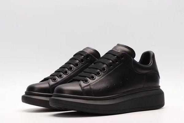 2019 chaussures de sport de marque de luxe en cuir blanc pour femmes, hommes, or noir, mode rouge, confortables baskets plates