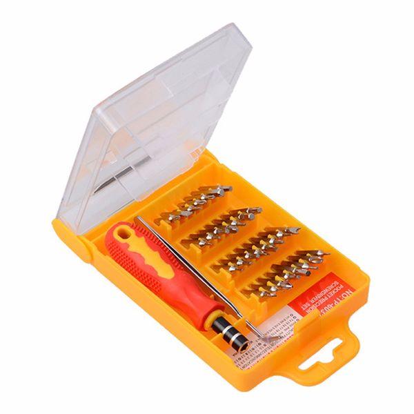 32 in 1 satz micro tasche präzision schraubendreher kit magnetische schraubendreher handy werkzeug reparatur box