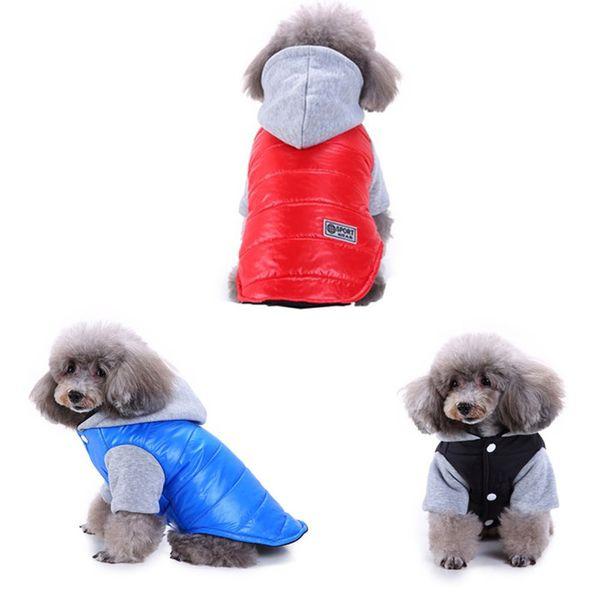 Pet Dog Cat Winter Jacket Clothes Puppy Coat Apparel Clothing Soft Sport Wear jacket pet dog High quality new