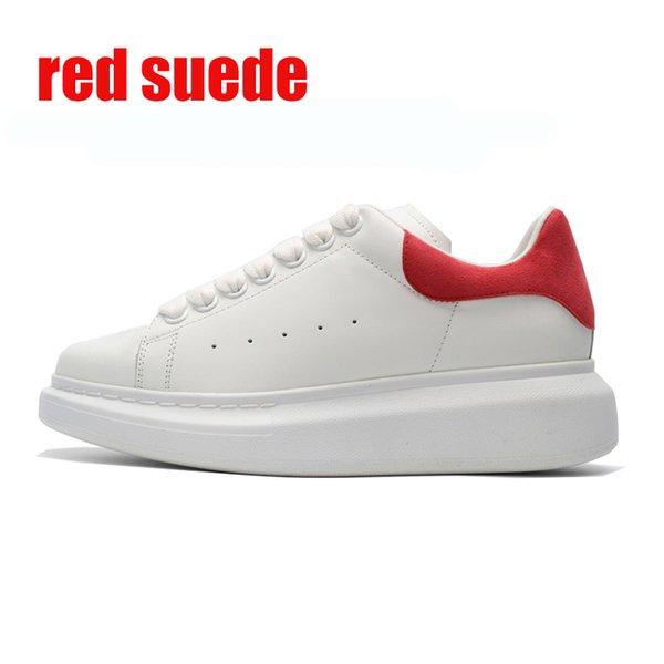 красные замшевые 36-44