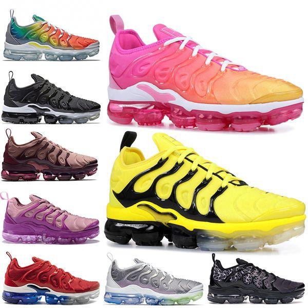Luxury Designer Women Mens TN plus Running Shoes Laser Fuchsia Psychic Bumblebee Rainbow Game Royal Olympic Sports Trainers Sneakers tn Run