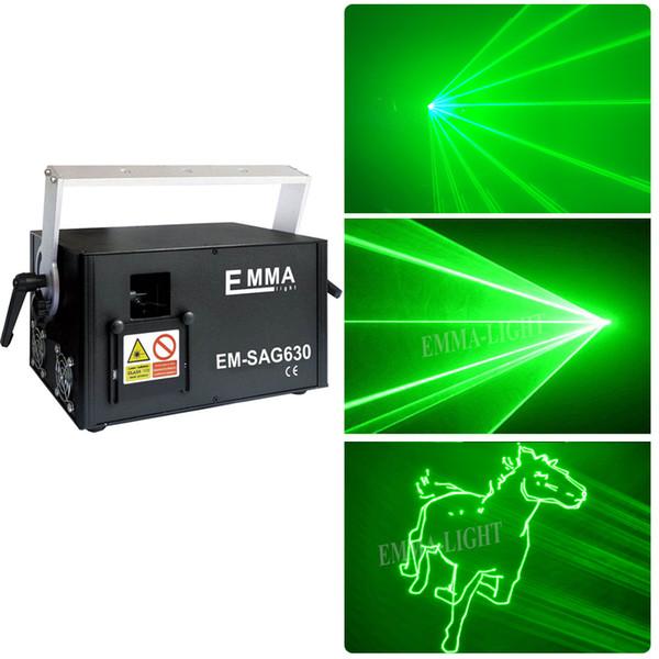Proiettore laser di animazione per esterni, laser verde 3w con slot per schede ilda dmx sd