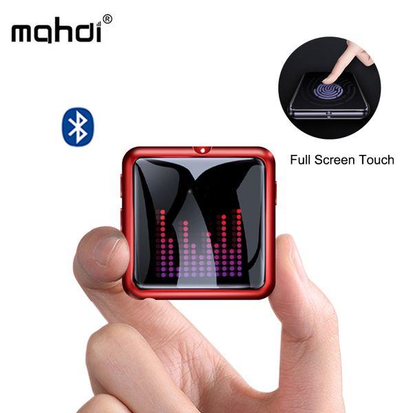 Mahdi M260 Mp3 Player Bluetooth 4.1 Voice Recorder Music Player Mp3 Touch Screen Portable HIFI USB Metal TF Card Fm Video Mini