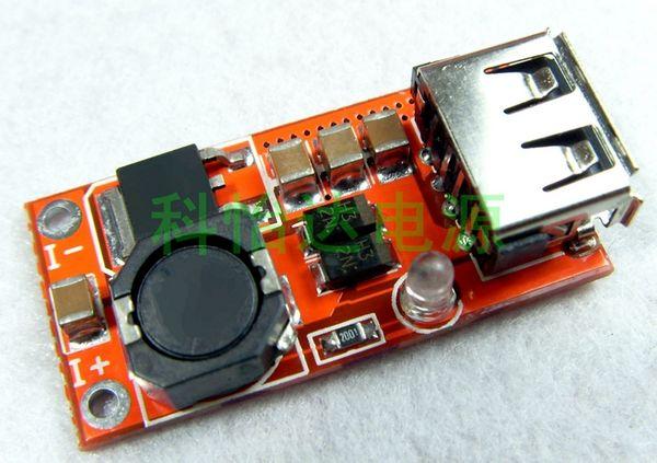 5 V 3A Yüksek Verimlilik 95% Boost USB Güç Modülü Cep Telefonu için Yüksek Akım Düz Panel Şarj Güç Kaynağı