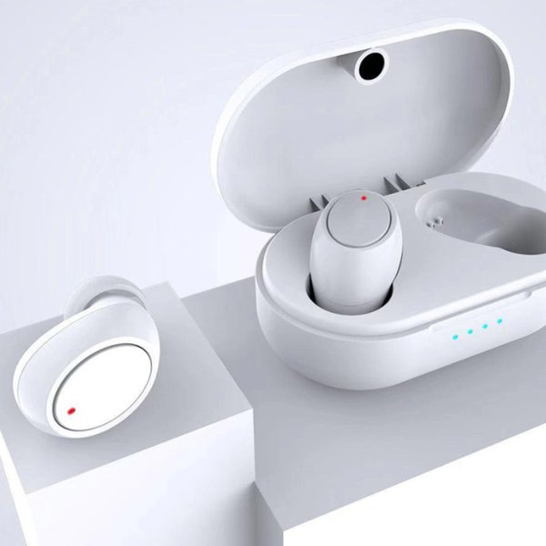 Buds TWS Mini Bluetooth Auriculares Auriculares Gemelos Auriculares Auriculares Inalámbricos Estéreo In Ear con enchufe de carga DHL gratis