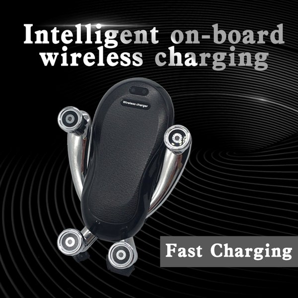Rede sem fio de carregamento e agitação vermelho novo carro sem fio de carregamento K86 rápido 10 W suporte de saída de ar conveniente