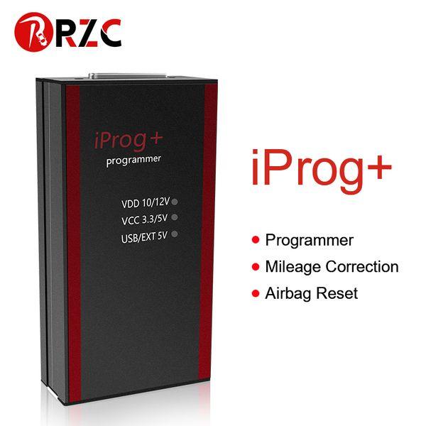 2019 ZOLIZAD Iprog + Pro Программист Поддержка IMMO + Пробег коррекции + Подушка безопасности Сброс Настройка ключа автомобиля программатор Reset Tool на продажу