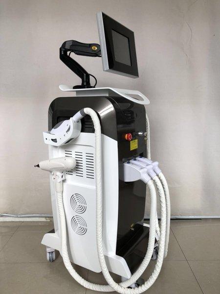 Vendita calda parrucchiere IPL rf yag nd capelli del laser e la rimozione dei tatuaggi attrezzature per l'estetica multifunzionale