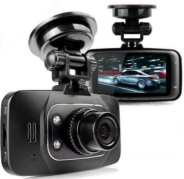 1080 P 2.7 pulgadas LCD Coche DVR Vehículo Cámara Grabadora de Vídeo Dash Cam G-sensor HDMI GS8000L Grabadora de coche DVR Envío gratis