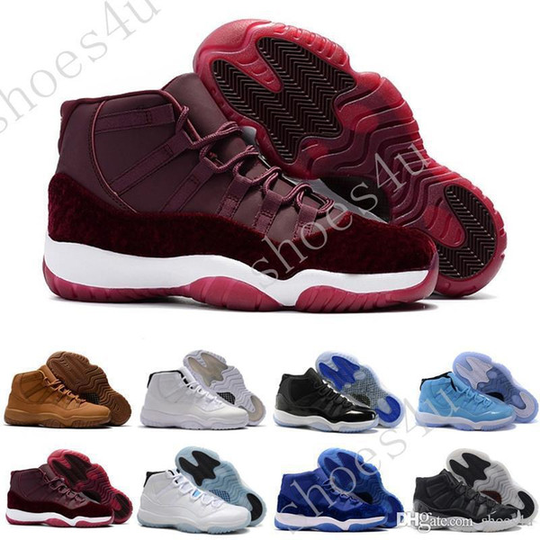 Basketball 11 Shoes Mens Bred Citrus Concord Bred Georgetown GS Sneakers Designer XI 11s For Men With Box Fast Delivery