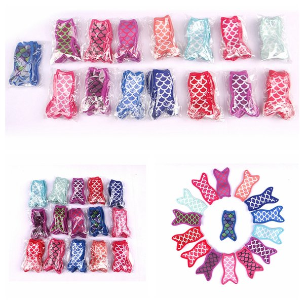 Ice Cream Holder Cute Mermaid Neoprene Printing Sublimated Freezer Pop Popsicle Sleeves For Kids Summer Lily Kitchen Tools AAA2057