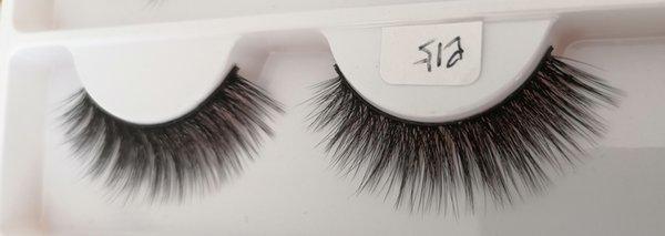 Q15 False eyelashes 3D chemical fiber 0.07 soft natural realistic custom brand custom packaging handmade wholesaler