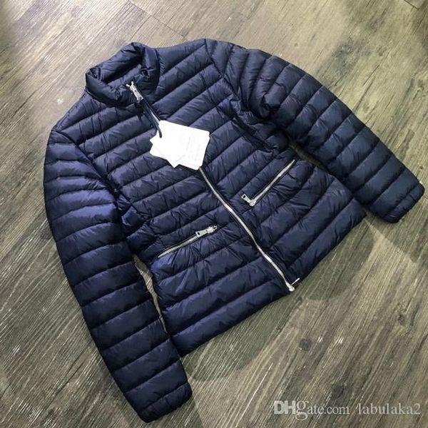 Femmes d'hiver Veste femme légère en duvet d'oie chaud à l'intérieur Manteau Femme avec tous les Tag et l'étiquette Vêtements pour femmes
