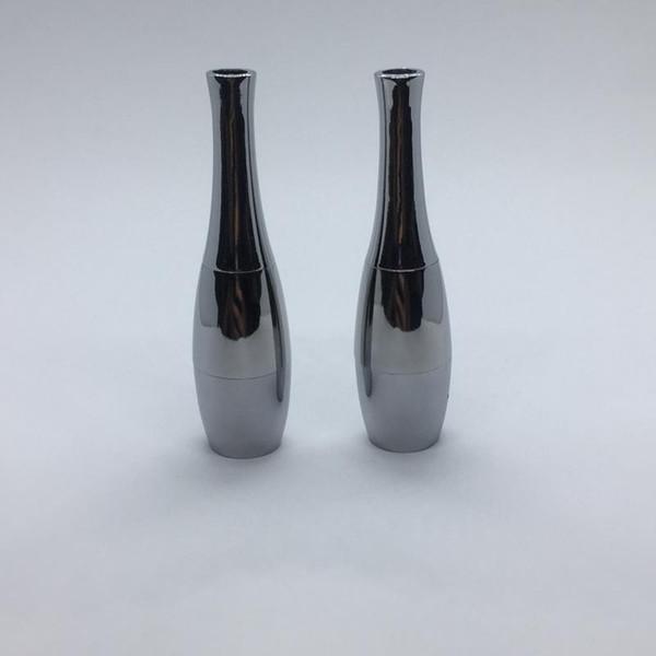 Acciaio atomizzatore Secco Erbe vaporizzatore Cera bobina doppia ricostruibile Clearomizer metallo Vapor CIGS Per EVOD Pen Batteria Hot Cake