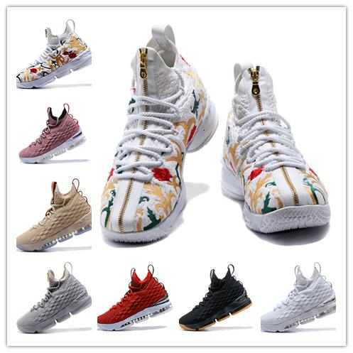 (With box) High Quality Newest Ashes Ghost 15 Basketball Shoes shoes Arrival Sneakers 15s Mens Casual Shoes 15 40-46