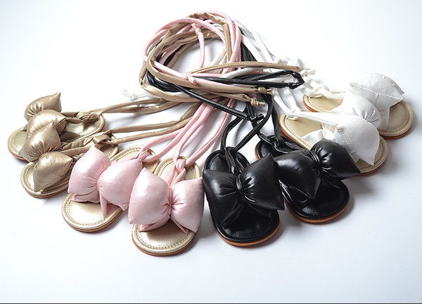 Sandals Roman Shoes Big Butterfly Strong Pat Children's Shoes Baby Shoes Fashionable Comfort wt1759