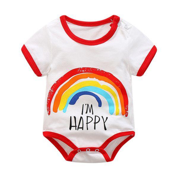 Boa qualidade verão bebê meninas macacão infantil meninas dos desenhos animados pijama macacão casual roupa sleepwear recém-nascidos meninas roupas homewear