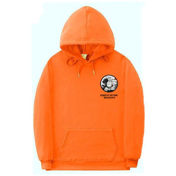 Acheter Orange Sweats Homme Drôle De Chat Vague Pull À Capuche En Molleton Mode Loisirs Sweat À Capuche Hip Hop Streetwear À Capuche Rose Noir De