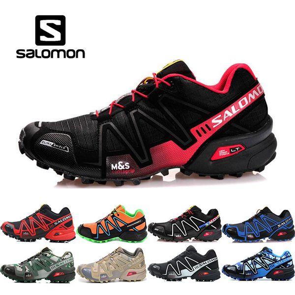 2019 new arrive salomon speed cross 3 cs iii running shoes