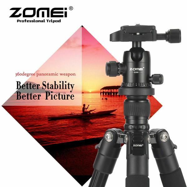 trépied en aluminium portable Voyage de Jumeirah et la balle pour Canon Nikon appareils photo reflex numériques