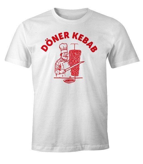 Новая Горячая Летняя Распродажа Короткая Футболка Doner Kebab Donerspie Fun-ShirtTee Рубашка