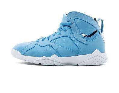 Sıcak satış Spor Sneakers 2019 7 VII Basketbol Ayakkabıları Yüksek Kesim Erkekler Mavi Beyaz Prynne Üniversitesi Toptan Ücretsiz kargo. 0026