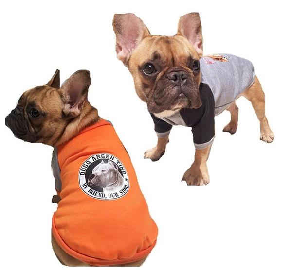 Kostüm Klassische Bulldogge Kapuze Hund Beine Mit Feste Haustier Mantel Bekleidung Großhandel Warme Niedlich Kleidung Y6 Herbst Für Zwei ZXPkiu