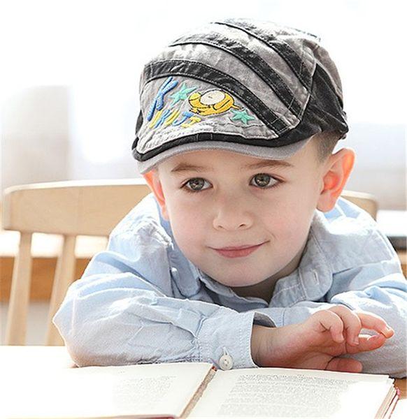Fashion Children Boy British Berets Spring Berets Autumn Kids Elephant Beret Hats Baby Boy Hat Caps Retro Caps Fashion Beanie