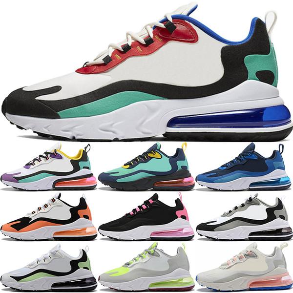 Bauhaus Ayakkabı Koşu Kadınlar Men Tepki Phantom Çok Renkli Gri Volt Siyah Beyaz Gri Açık Bej Tebeşir Erkek Eğitmenler Spor Spor ayakkabılar 36-45
