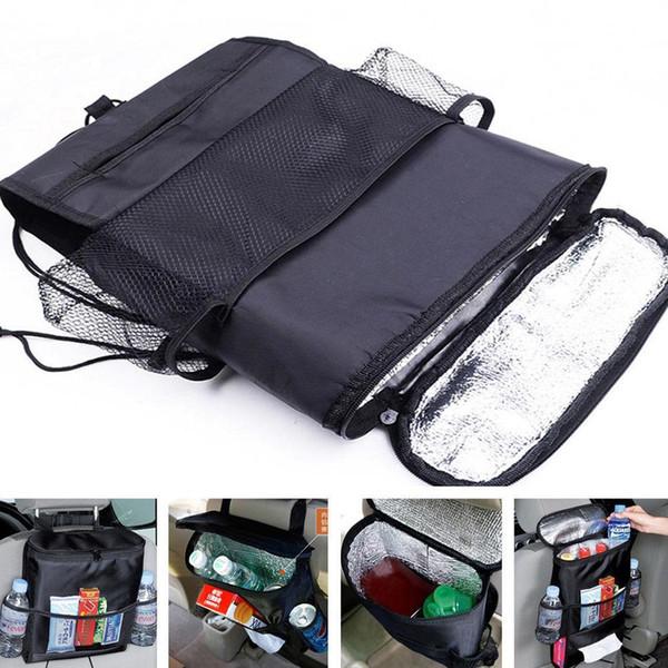 Auto Voltar Car Seat Organizer Titular Multi-bolso de armazenamento de viagem de suspensão Bag saco de fraldas de bebê crianças assento de carro pendurado BBA212 saco