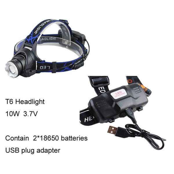 T6-Licht mit USB-Kabel