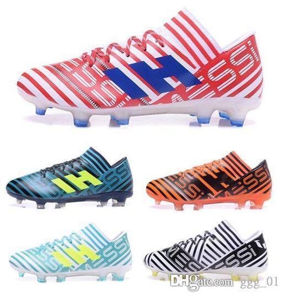 2019 New arrival NEMEZIZ 17.1 FG Men's Soccer Shoes Drop shipping High quality cheap Performance Male waterproof soccer cleats football