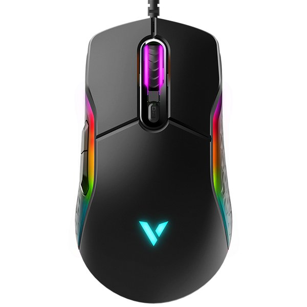 2019 Rapoo Magic LED Light Ergonomic PRO PC Gamer Mouse Fortnite LOL Dota  Gamer Computer Mice 8D Programmable IR Optical Gaming Mose From Jessiety,
