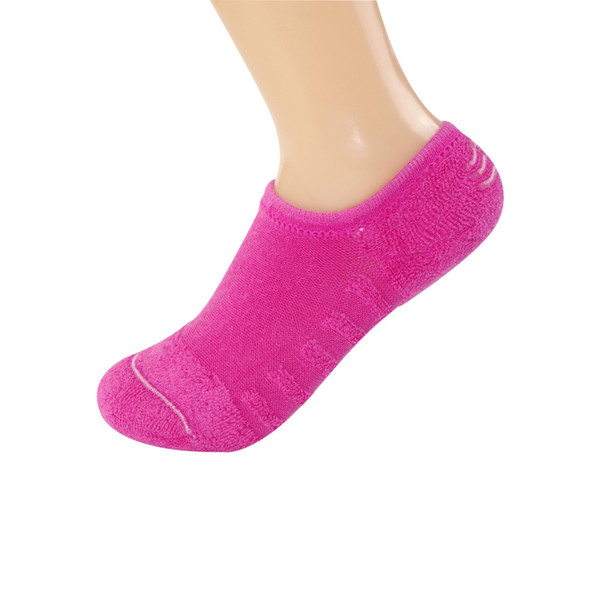 Ladies Towel Bottom Boat Socks Cotton Autumn Winter Pure Color Silicone Antiskidcalcetines mujersocks for womencalcetin invisibl