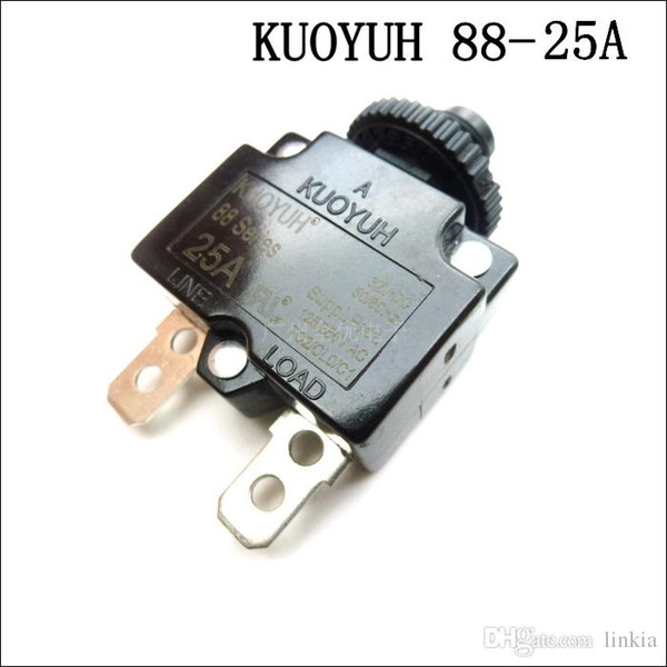 top popular Taiwan KUOYUH Overcurrent Protector Overload Switch 88 Series 25A 2021