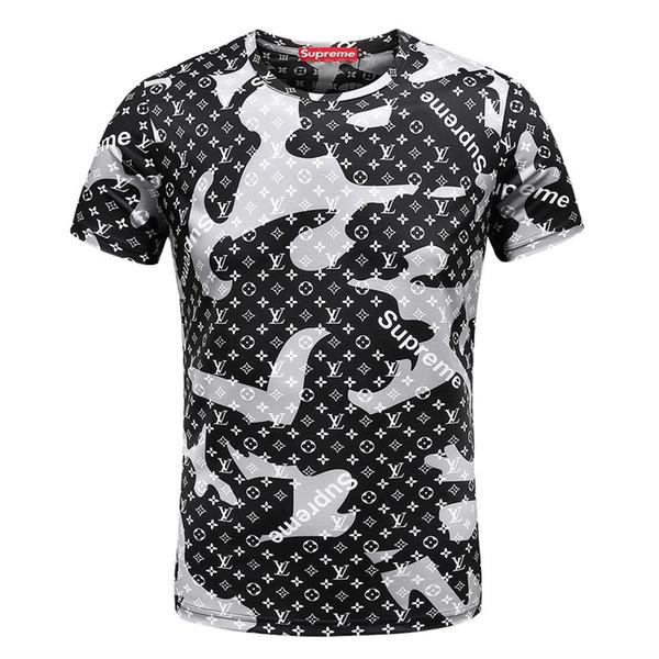 New York Fashion High Quality Heron Preston Nasa USA Flag Embroidery Men Women Street Luxury Cotton Hoody Casual Short Sleeve T-Shirt V91