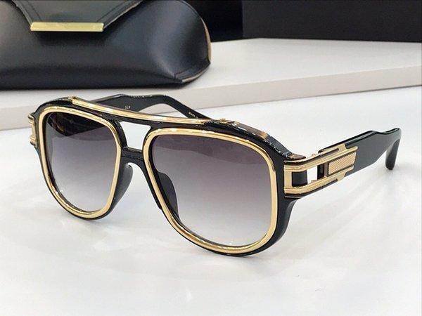 luz gradiente de ouro negro lente cinza