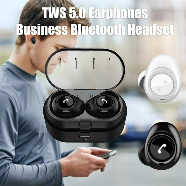 CP-7 X18 A6 TWS Wireless Bluetooth 5.0 Earphones Sports Mini Twins True Stereo Bass Headset Earbuds In-ear Hands-free Magnetic Charger Dock