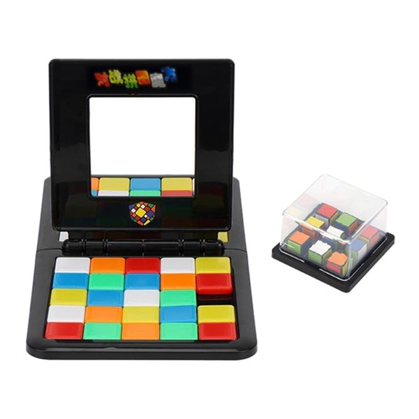 best selling Kid\'s Color Cube Competition Early Learning Puzzle Double Interaction Toy