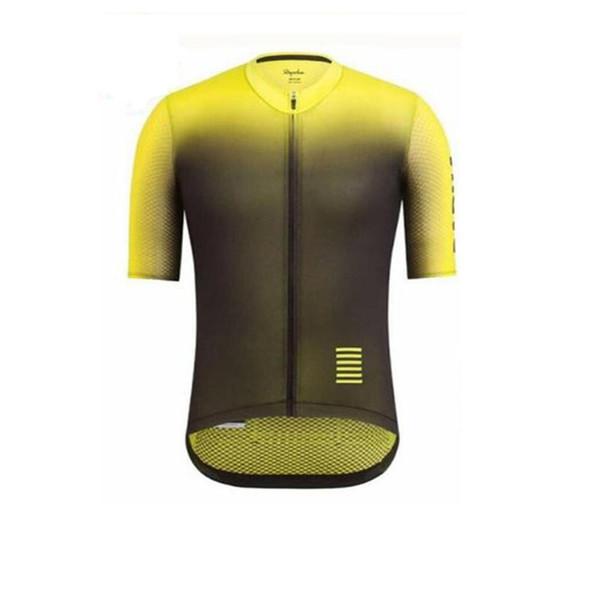 Rapha erkekler Bisiklet Jersey Kısa Kollu Bisiklet Bisiklet Giyim Yaz Yarış Bisiklet Giyim Maillot Ropa Ciclismo