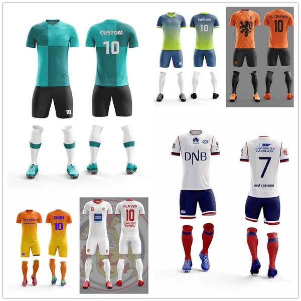 pretty nice ca0f6 e2935 2019 Wholesale Cheap Soccer Jerseys In Stock Sportswear Polyester  Comfortable Soccer Uniforms Sets Mens Football Shirts From Jiejiejersey,  $23.36 | ...