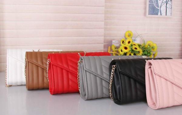 2019 estate vendita calda donne fashion designer di marca borse a spalla catene Flap borsa della borsa YS 871 borsa croce corpo messenger BORSE Tasca