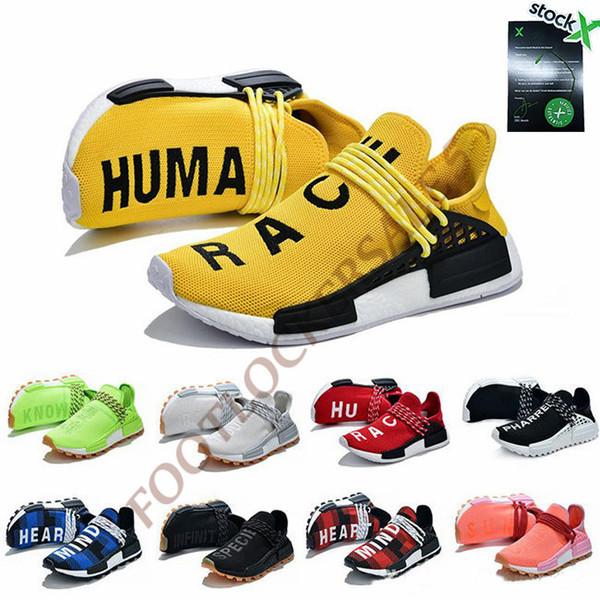 new products f2e94 e3e98 2019 Stock X 2019 Pharrell Williams Nmd Human Race Running ...