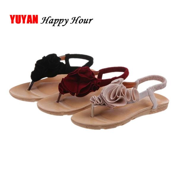 2019 Летние Сандалии Женщины Вьетнамки Мода Лето Женская Обувь Дамы Пляж Сандалии A636