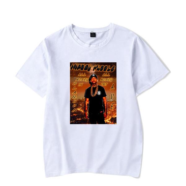New Nipsey Hussle Womens Designer Tshirts Personality Rapper Camicie a maniche corte Girlsl Magliette allentate Abbigliamento uomo