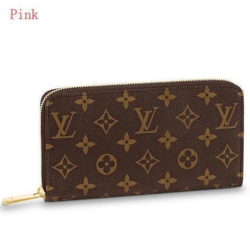 M41894 Zippy Wallet Frauen Echtes Leder Lange Brieftasche Kette Brieftaschen Kompakte Geldbörse Kupplungen Abend Schlüsselkartenhalter