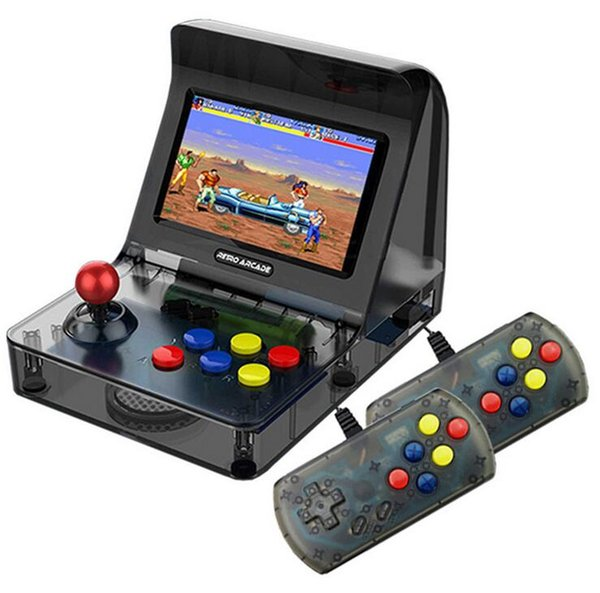 """FC SFC MD GBA Retro Arcade Game Console A8 Gaming Machine 3000 Classic Games Support TF Card Expansion Gamepad Control AV Out 4.3"""" Screen"""